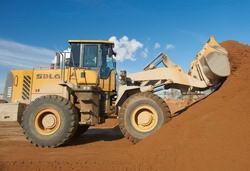 Добыча сеяного песка
